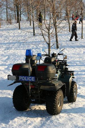 police atv